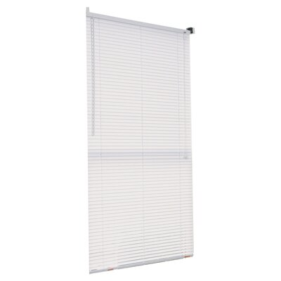 Mini Venetian Blind Size: 32 W x 64 L, Color: White