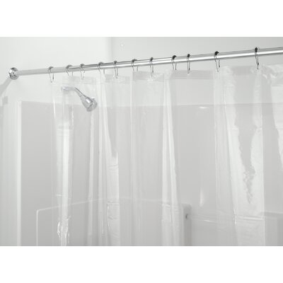 Peva Stall Shower Curtain Liner Color: Clear