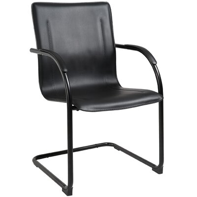 Guest Chair Frame Finish: Black