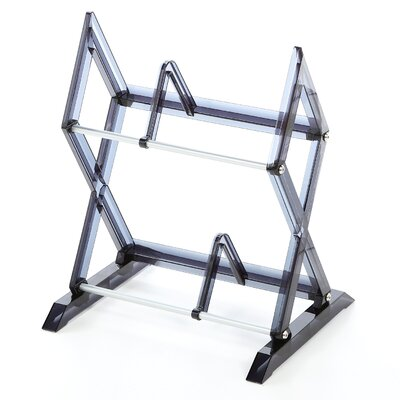 2 Tier Multimedia Storage Rack