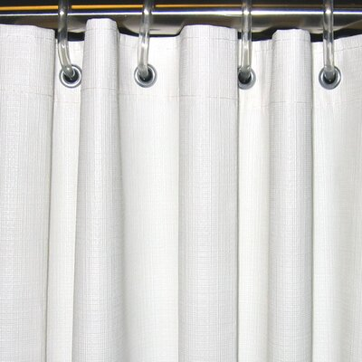 Vinyl Textured Shower Curtain Size: 42 x 74