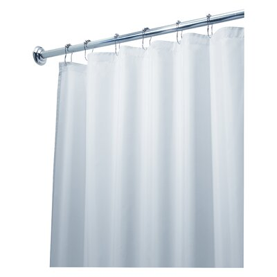 Waterproof Shower Curtain Liner Color: White