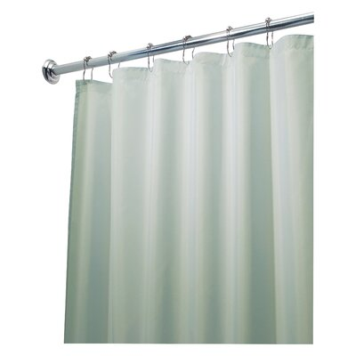 Waterproof Shower Curtain Liner Color: Seafoam Green