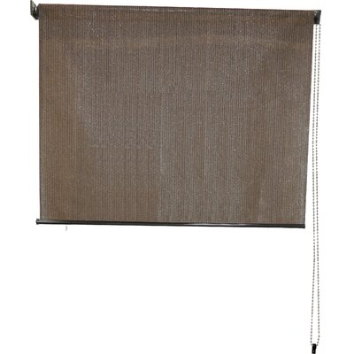 Sun Roll-Up Sheer Solar Shade Size:  120 W x 72 L, Color: Espresso