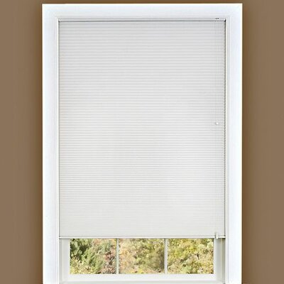 Cellular shade Size: 27 W x 64 D, Color: White