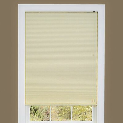 Cellular shade Size: 23 W x 64 D, Color: Alabaster