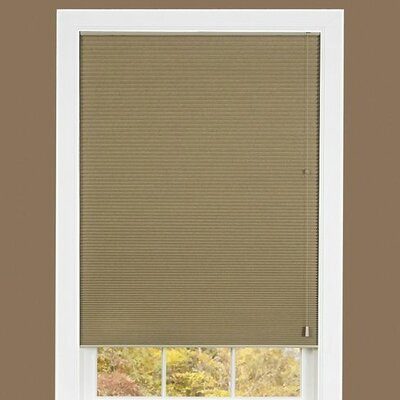 Cellular shade Size: 35 W x 64 D, Color: Mocha