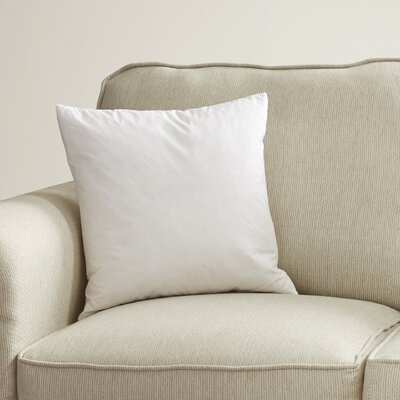 Square Pillow Insert Size: 24 Square