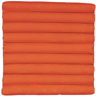 Outdoor Lounge Chair Cushion Fabric: Tangerine