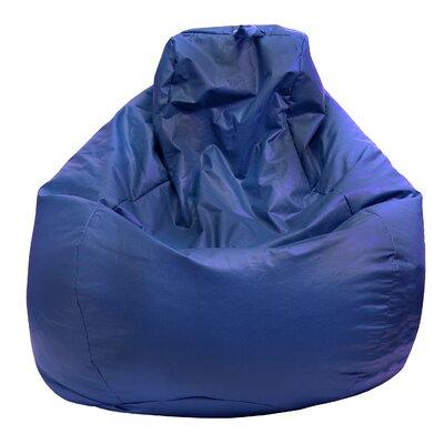 Bean Bag Lounger Upholstery: Medium Blue