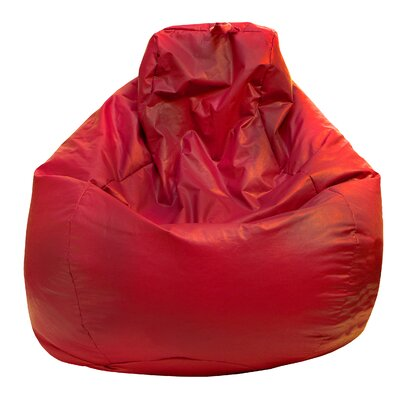 Bean Bag Lounger Upholstery: Red