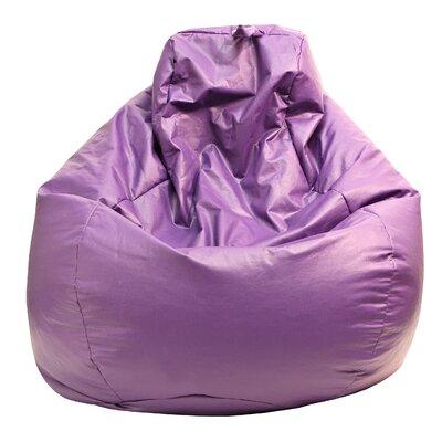 Bean Bag Lounger Upholstery: Purple