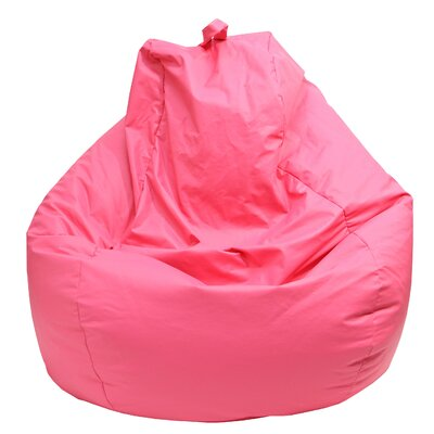 Bean Bag Lounger Upholstery: Hot Pink
