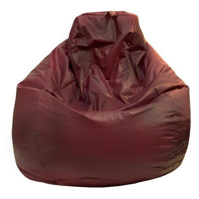 Bean Bag Lounger Upholstery: Wine