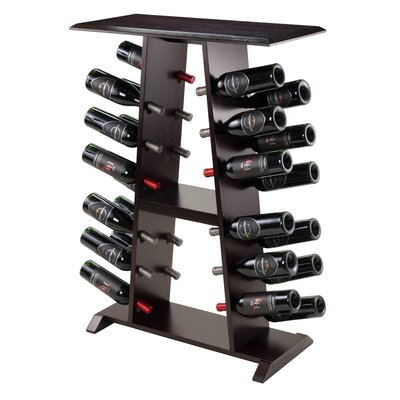 24 Bottle Floor Wine Rack