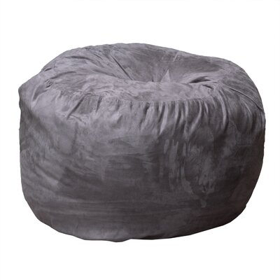 Bean Bag Chair Upholstery: Charcoal