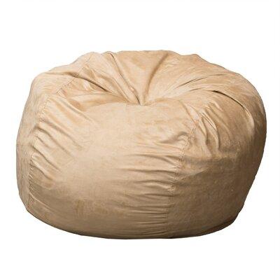 Bean Bag Chair Upholstery: Camel