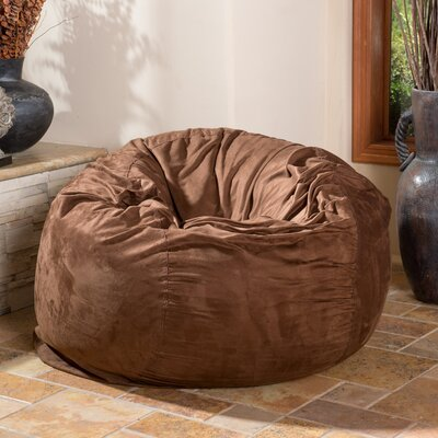 Bean Bag Chair Upholstery: French Roast