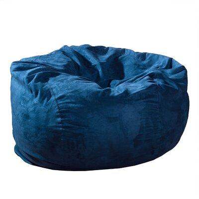 Bean Bag Chair Upholstery: Midnight Blue