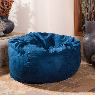Bean Bag Chair Upholstery: Midnight Blue