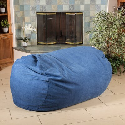 Bean Bag Sofa Upholstery: Indigo