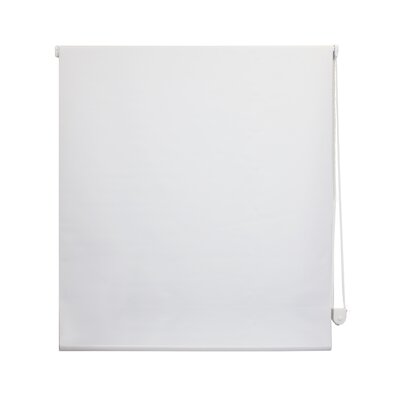 Roller Shade Color: White, Size: 39 W x 72 L