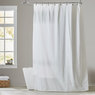 Shower Curtain Color: Super Clear