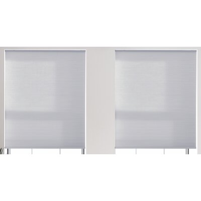Cordless Light Filtering Cellular Shade in Smoky