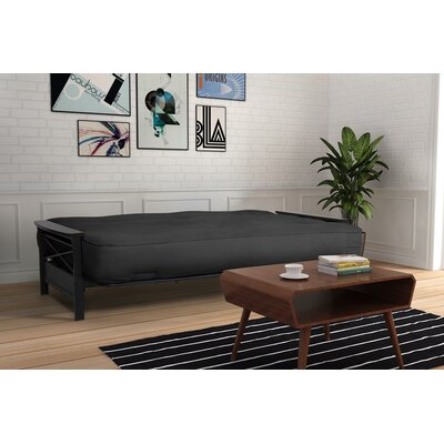6 Foam Futon Mattress Color: Charcoal