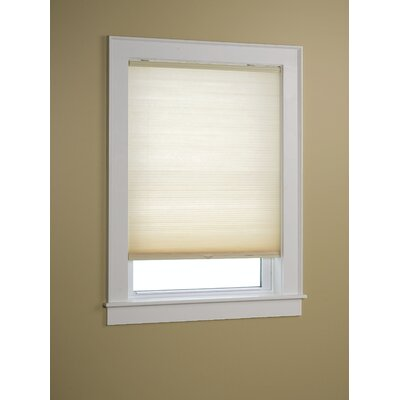 Semi-Sheer Cellular Shade Size: 23 W x 64 L, Color: Natural