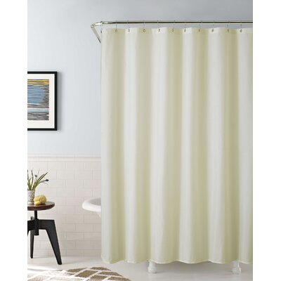 Vinyl Water Proof Shower Curtain Liner Color: Ivory