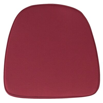 Dining Chair Cushion (Set of 2) Fabric: Burgundy