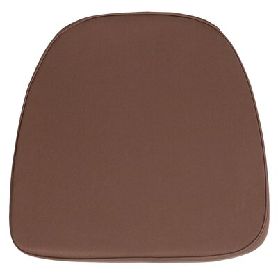 Dining Chair Cushion (Set of 2) Fabric: Brown