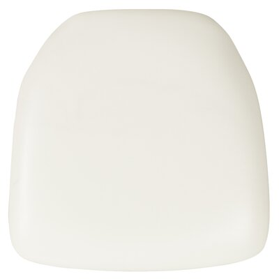 Dining Chair Cushion (Set of 2) Fabric: White