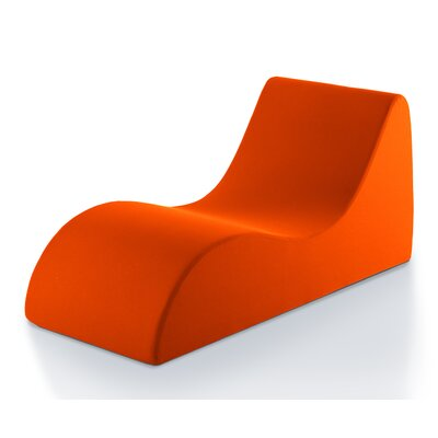 Comfort Lounging Accent Lounge Chair Color: Orange