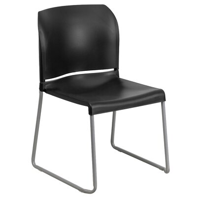 Contoured Stack Guest Chair Seat Color: Black