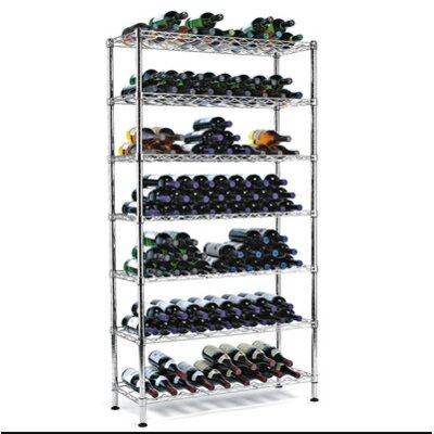 126 Bottle Floor Wine Rack