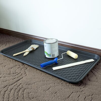 Boot Tray Rug Size: Rectangle 15 x 30