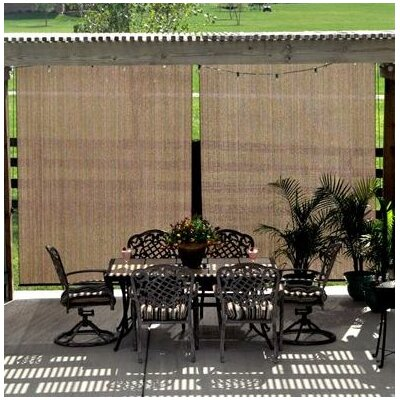 Outdoor Roller Shade Size: 48 W x 72 L, Color: Southern Sunset