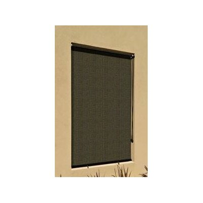 90% UV Block Outdoor Roller Solar Shade Size: 72 W x 72 H, Color: Mocha