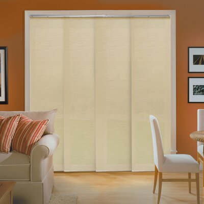 Room Darkening Vertical Blind Color: Abaca Alabaster