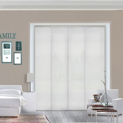 Room Darkening Vertical Blind Color: Birch White