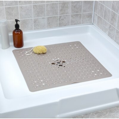 Square Shower Mat Color: Tan