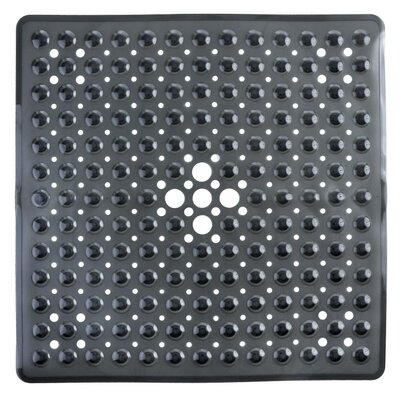 Square Shower Mat Color: Black