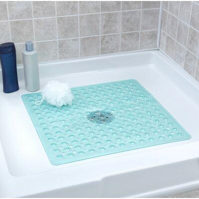 Square Shower Mat Color: Aqua