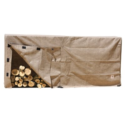 Elite Log Rack Cover Size: 42 H x 25 W x 50 D