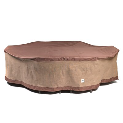 Oval Patio Table & Chairs Cover Size: 84 W x 127 D