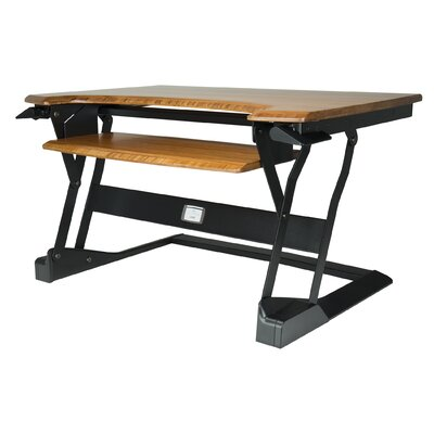 Workspace Lift 20 H x 35 W Standing Desk Conversion Unit Finish: Espresso