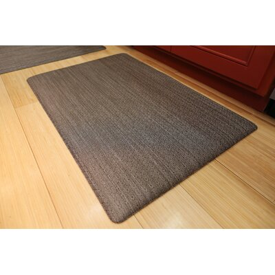 Torrick Comfort Kitchen Mat Mat Size: Rectangle 2 x 6, Color: Coco