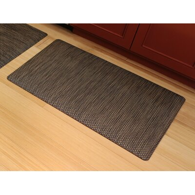 Ultra Comfort Mat Rug Size: 2 x 3, Color: Black Wicker